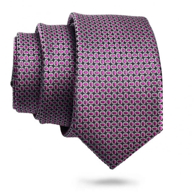 Red Necktie for Men on Wedding Occasion