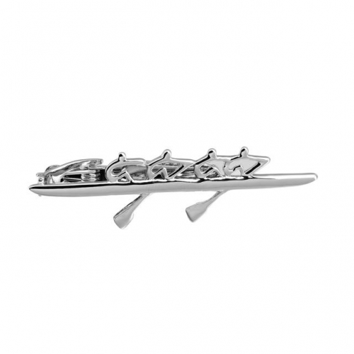 2 Inch Canoeing Tie Bar Clip for Men