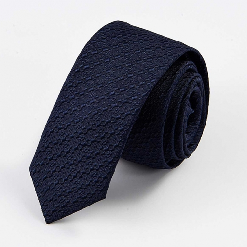 Formal Necktie for Men at Business Wedding Occasion in Navy